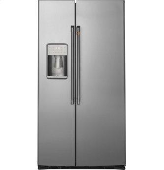 Caf(eback) 21.9 Cu. Ft. Counter-Depth Side-By-Side Refrigerator