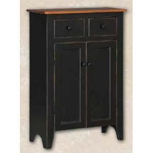 2 Door, 2 Drawer Linen Closet