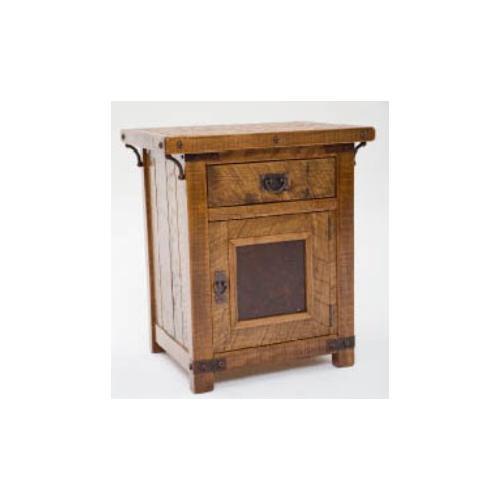 Green Gables - Bungalow 1 Door 1 Drawer Nightstand