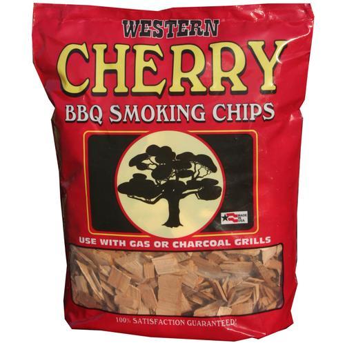 Saffire Grill & Smoker - Western Cherry Smokin Chips - 3lbs