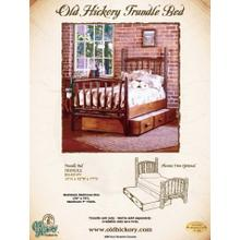Old Hickory Trundle Bed