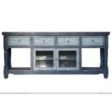 """Aruba 70"""" Dark Blue TV Stand"""