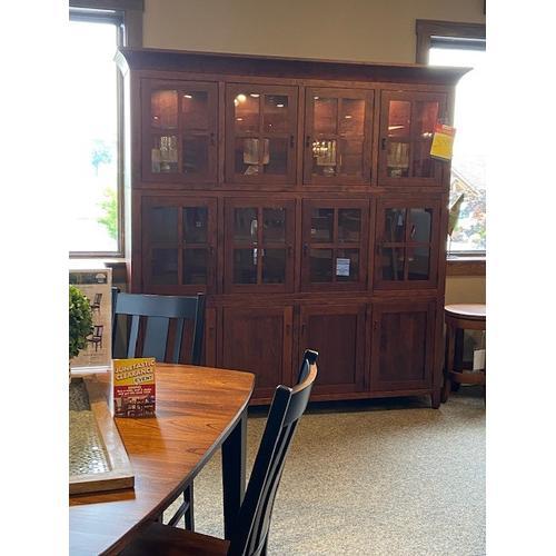 Amish Craftsman - Settler's 4 Door Hutch