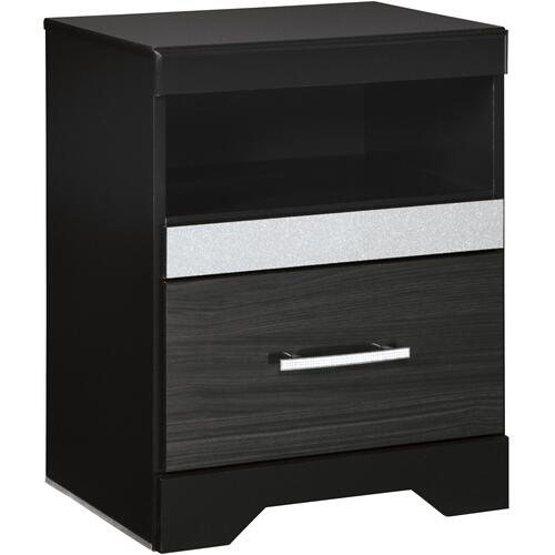 B304 6PC Set: Queen Storage Bed, Chest, and Nightstand (Starberry)