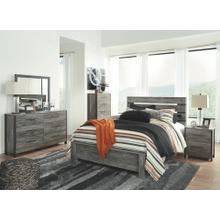 Cazenfeld- Black/Gray- Dresser, Mirror, Chest, Nightstand & Queen Panel Bed