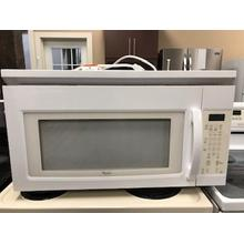 See Details - Used Whirlpool Over the Range Microwave