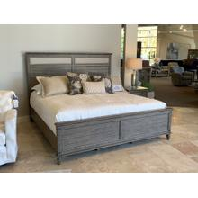 Farmhouse Chic King Bedroom with Upholstered Headboard
