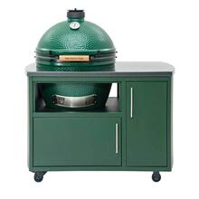 Cooking Island- Custom 49 inch island for Egg - Flat Green