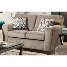 View Product - Cornell Pewter Loveseat (Loveseat - Stationary)