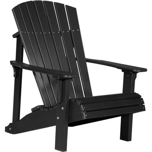Deluxe Adirondack Chair Black