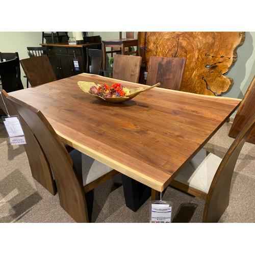 Amish Craftsman - Live Edge Dining