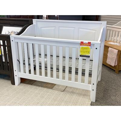 See Details - White Crib & Dresser