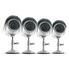 Svat VU301-4C Indoor/Outdoor Night Vision CCD Security Cameras (4-Pack)