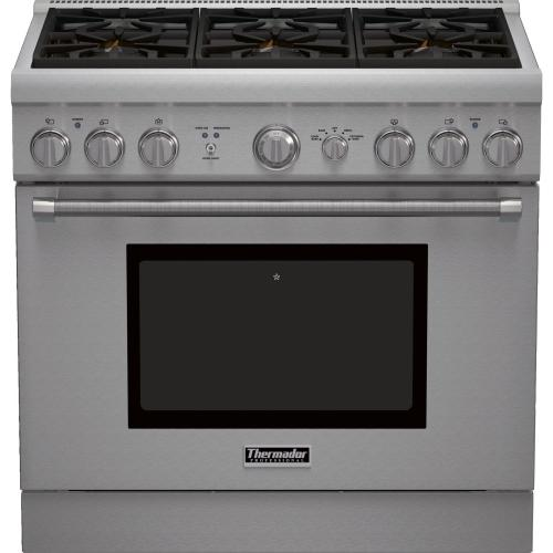Thermador Pro Harmony Professional Series 36 Inch Pro-Style Gas Range