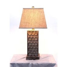 See Details - Table Lamp with Empire Shade