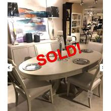 OVAL DINING TABLE & 8 CHAIRS - NOW 50%FF!