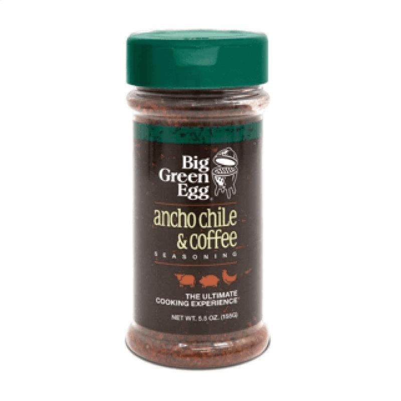 Big Green Egg Seasoning, Ancho Chili & Coffee