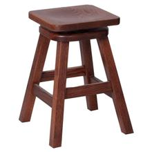 Square Straight Leg Swivel Bar Stool