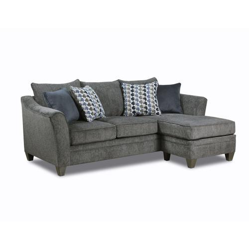 Lane Home Furnishings - 6485 Sofa with Chaise in Albany Slate
