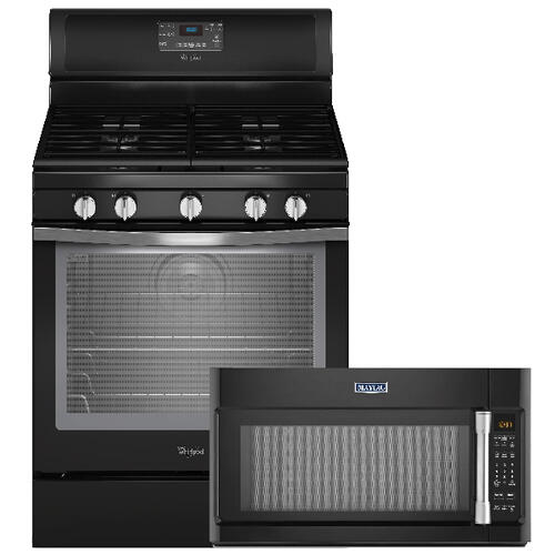 Buy the Free Standing Gas Range, Get the Microwave FREE!