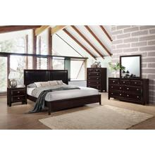 C6498  Bedroom Group - King/Queen/Full/Twin Bed, Dresser/Mirror, Chest and Nightstand