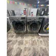 See Details - ***WEST LOCATION*** 5.2 cu. ft. Mega Capacity TurboWash® Washer with Steam Technology & 9.0 cu. ft. Mega Capacity *GAS* Dryer with Steam Technology **OPEN BOX**