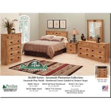 Perdue Savannah Plantation Collection 5 Drawer Chest
