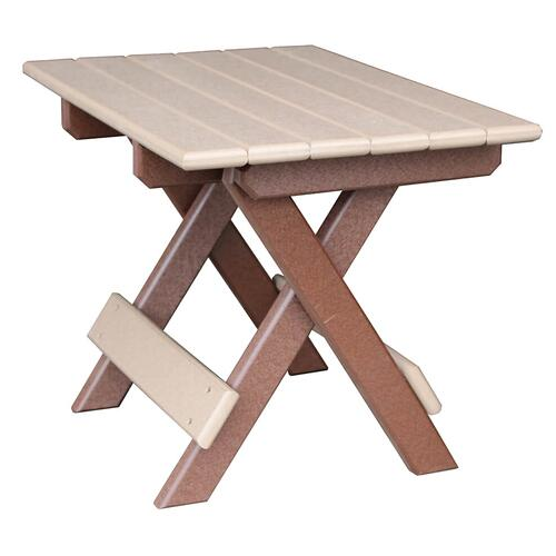 Folding End Table