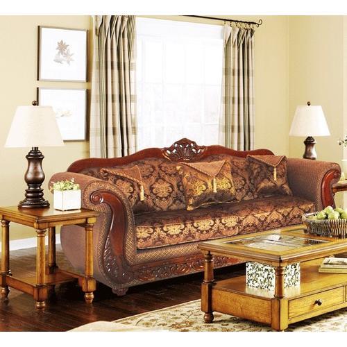 Kaylas Furniture - 998 Sofa - 31 Brown