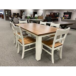 42x72 Finger Joint Dining Set