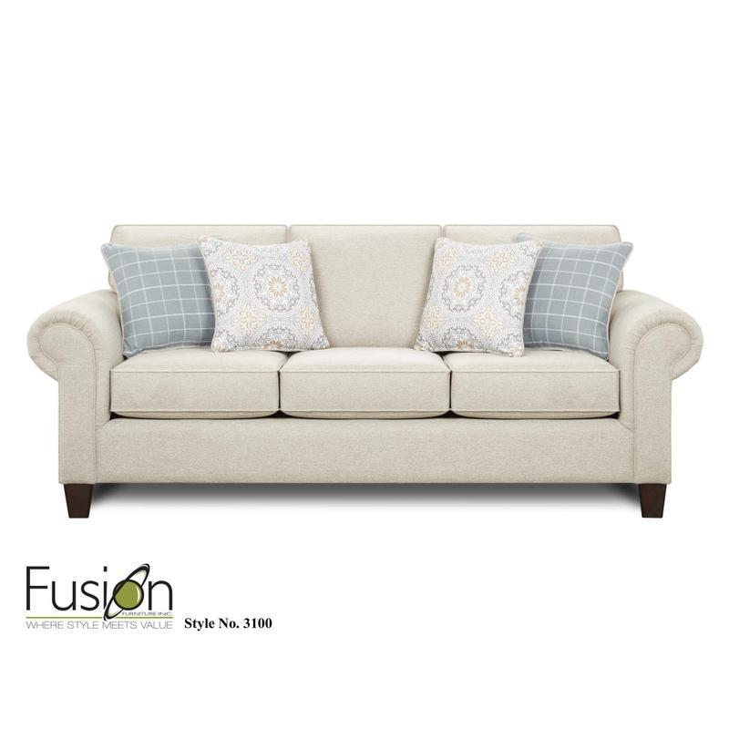 Bates Nickel Sofa