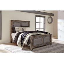 Lynnton King Upholstered Panel Bed