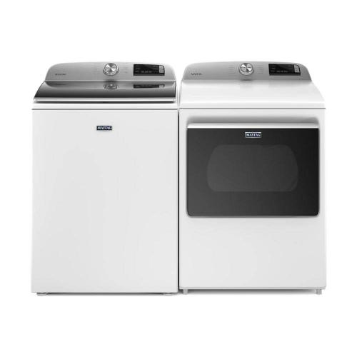 Maytag Smart Capable High Efficiency Laundry Pair with Extra Power - Includes 5-Year Parts & Labor Warranty