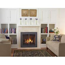 Bellavista B36XTE Medium Direct Vent Clean Front Gas Fireplace