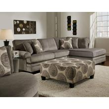 See Details - 2 Pc. Groovy Smoke Sectional Set