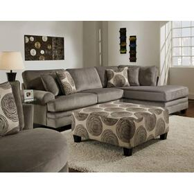 2 Pc. Groovy Smoke Sectional Set