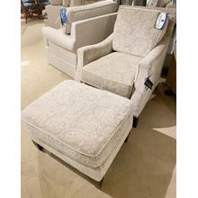 Braxton Culler Chair and Ottoman Set