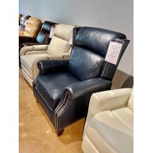 See Details - Power Leather Rachel Recliner In Shoreham Blue