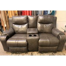 View Product - Marvel Power Reclining Foot & Headrest Loveseat - Fossil