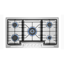 36-in 5 Burners Stainless Steel Gas Cooktop
