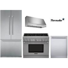 "36"" Thermador Gas Range Package"