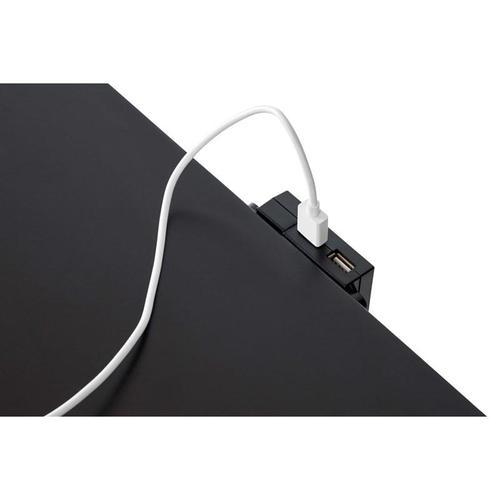 Lane Home Furnishings - Brooklyn Black 2-Drawer Nightstand (11035)