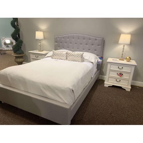 Hillsdale Furniture - Lila Queen Grey Headboard