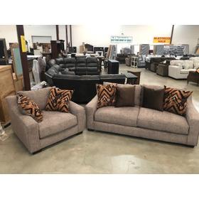 Group Set Sofa and Chair and Half