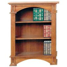 3 Shelf Fluted Bookcase