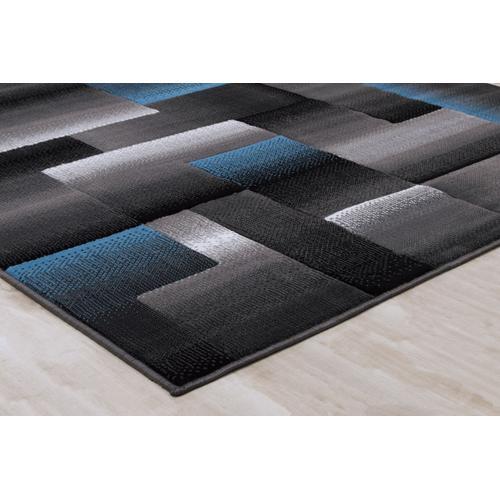 American Cover Design - Medium - Trendz Blue 5x8 Rug