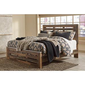 Benchcraft - Chadbrook - Brown 3 Piece Bed Set (Queen)