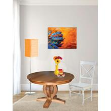 Master Single Pedestal Table