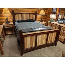 Hickory Valley Platform Bed (Available without platform)