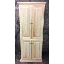 See Details - Maine Made 60X30 Pantry 30W X 60H X 15.5D Pine Unfinished